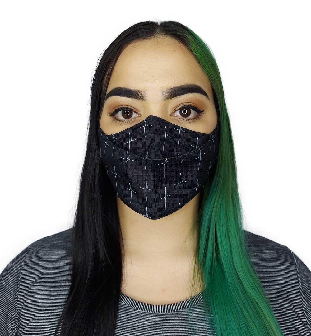 Máscara 3D - Fé