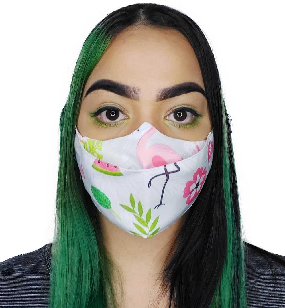 Máscara 3D Flamingo
