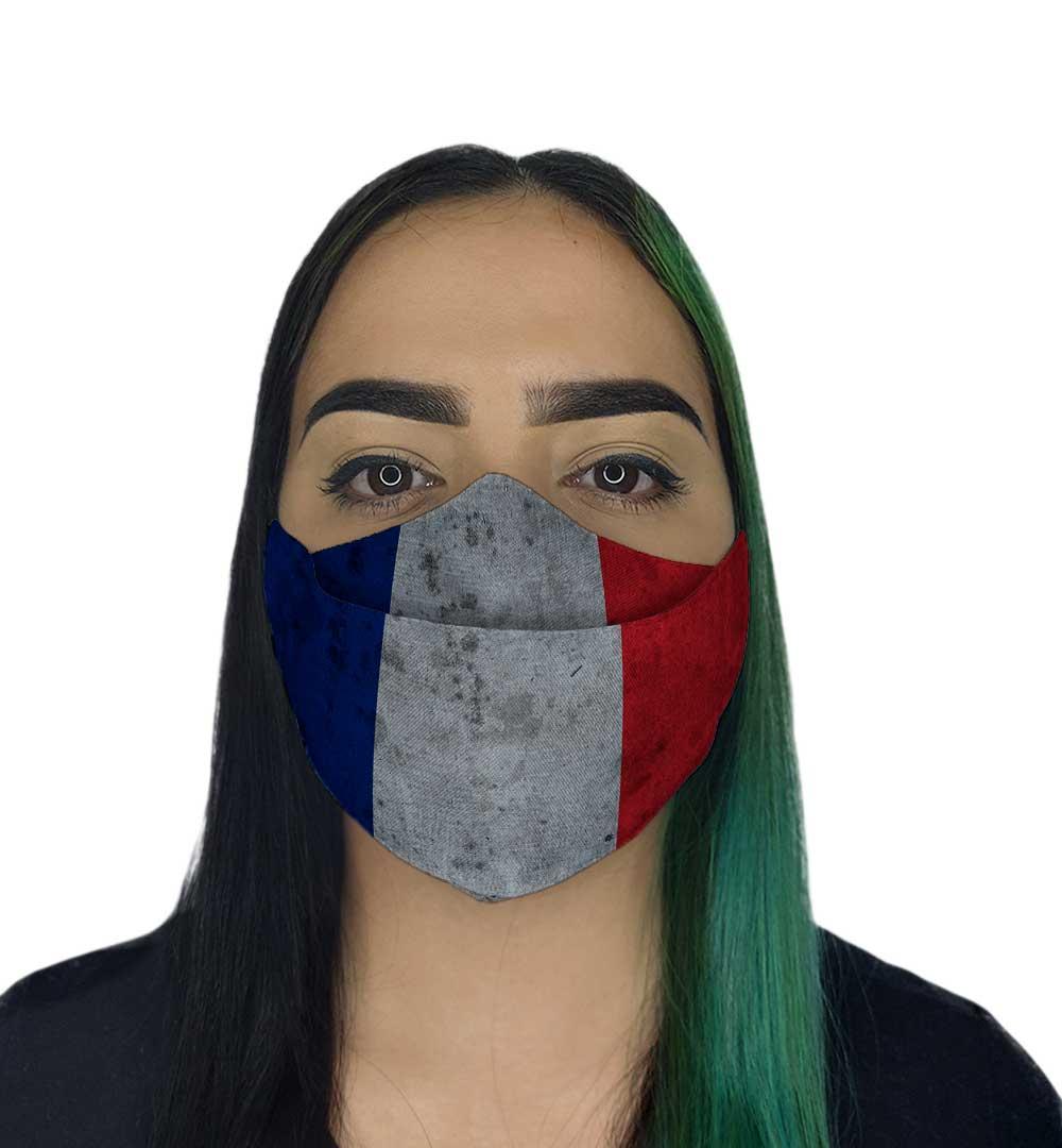 Máscara 3D - França II
