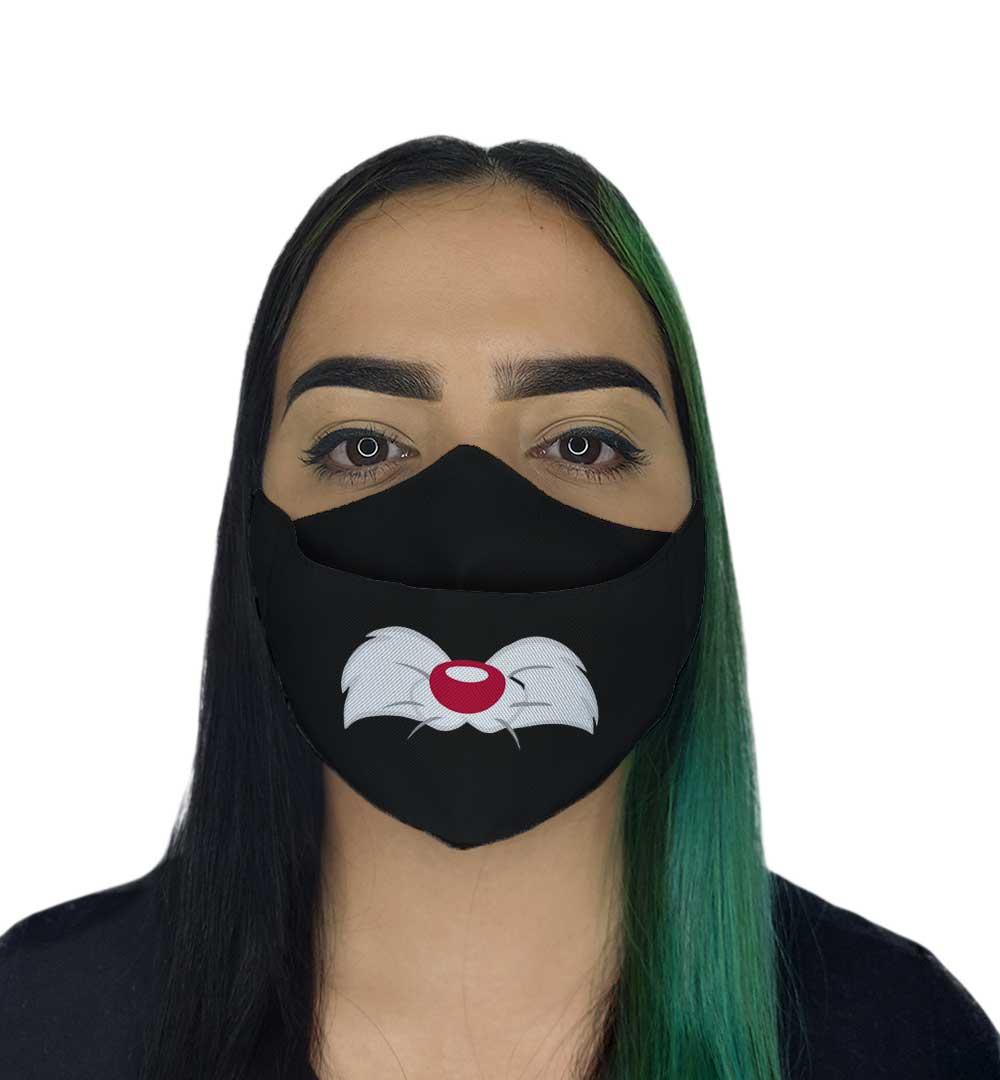 Máscara 3D - Gatinho Animado