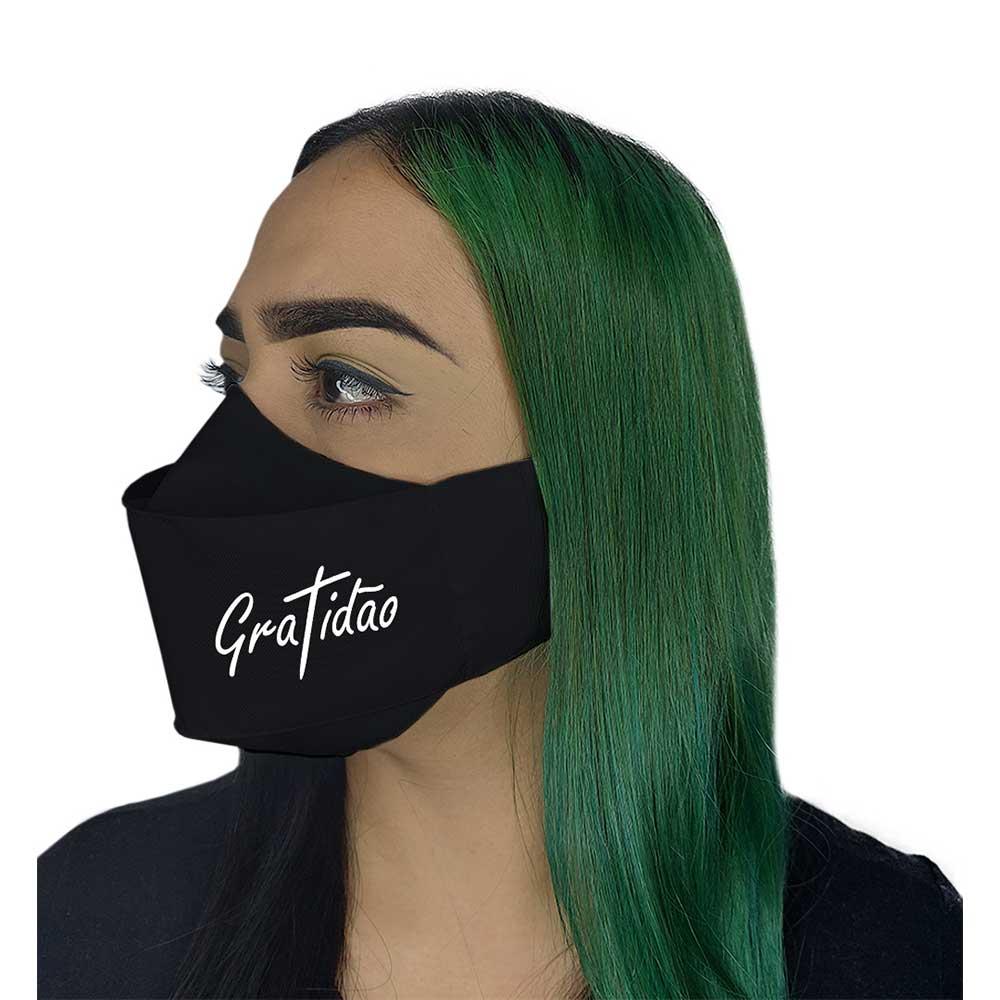 Máscara 3D - Gratidão
