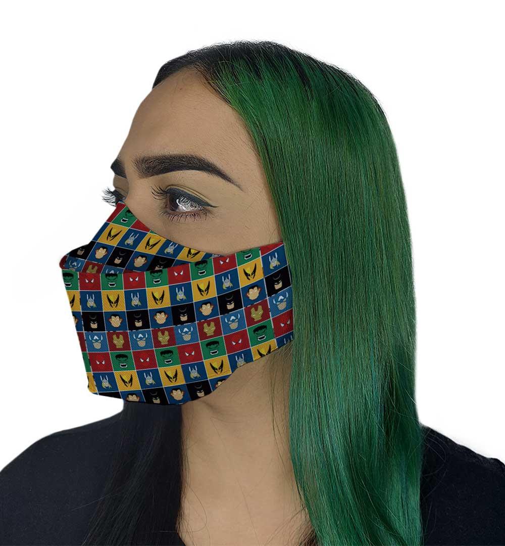 Máscara 3D - Herois I