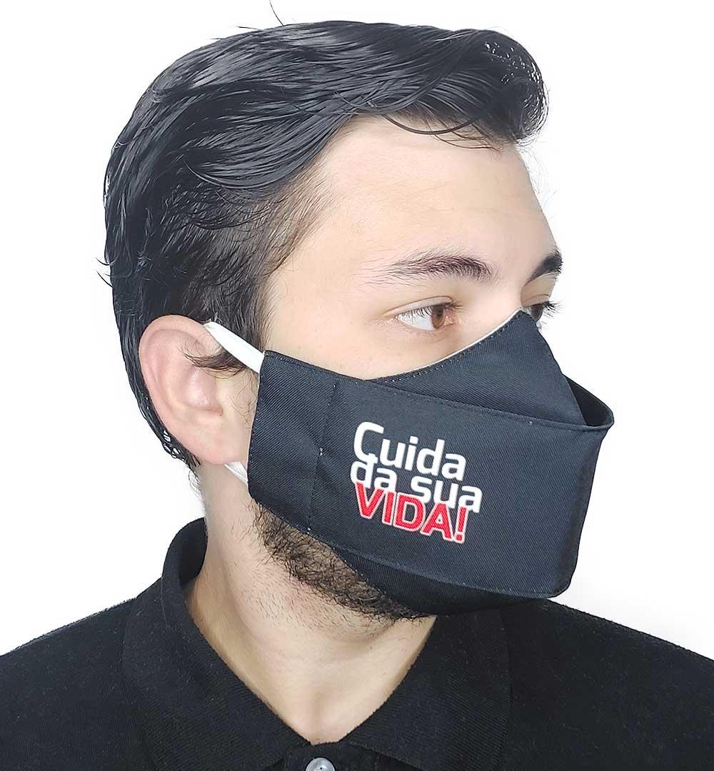 Máscara 3D Impaciente - Cuida da Sua Vida