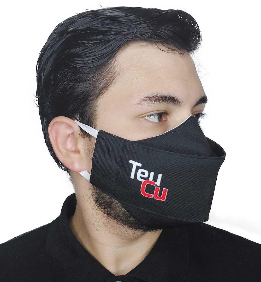 Máscara 3D Impaciente - Meme Teu Cu II