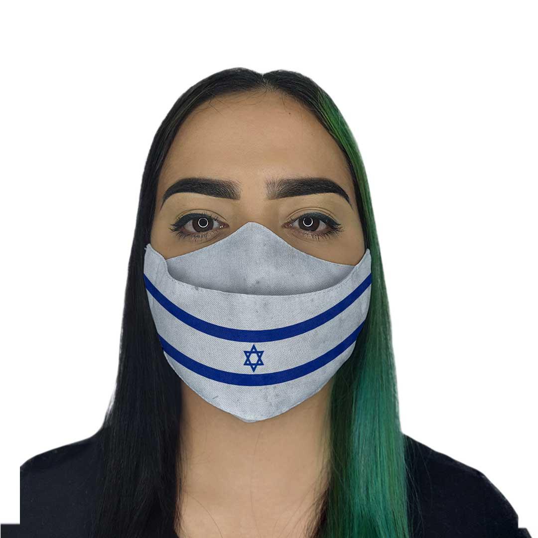 Máscara 3D - Israel