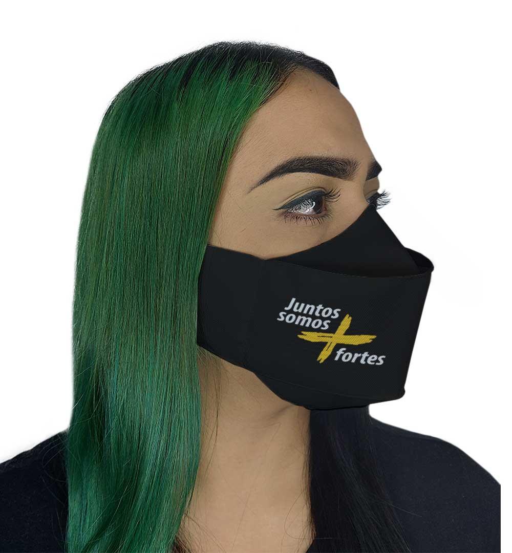 Máscara 3D - Juntos