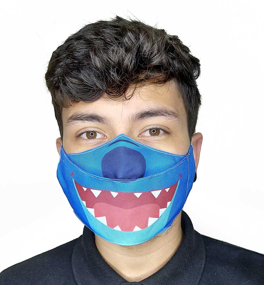 Máscara 3D Divertida III