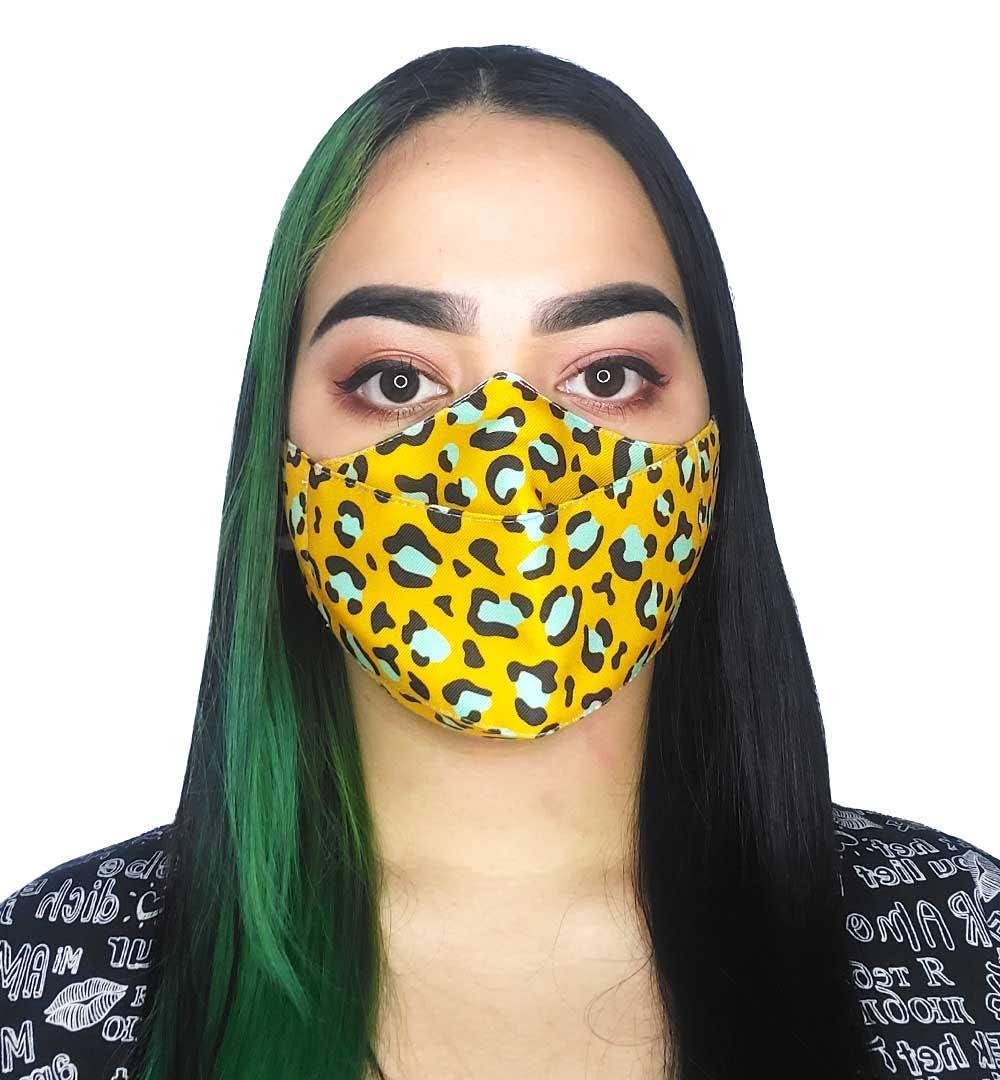 Máscara 3D Loucos Por Natureza