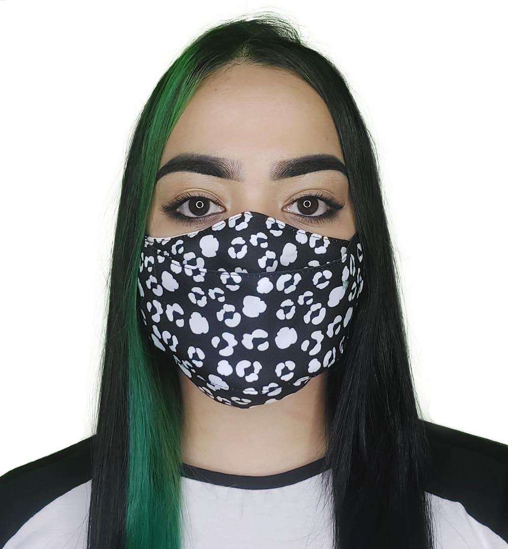 Máscara 3D - Loucos Por Natureza II