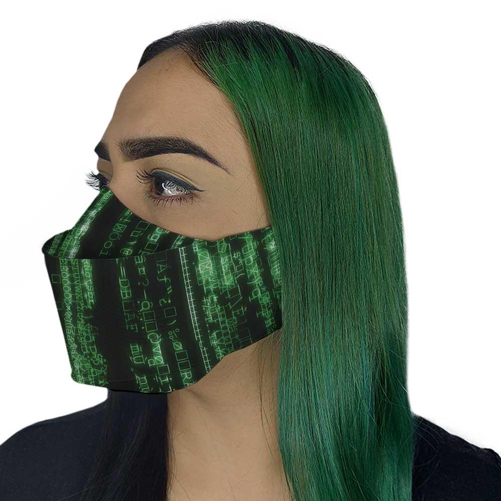 Máscara 3D - Matrix