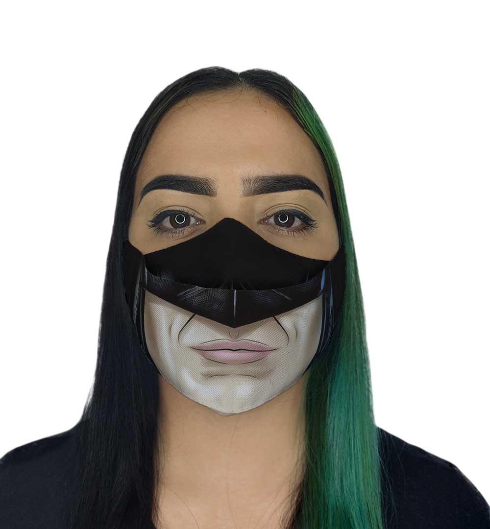 Máscara 3D - Morcego