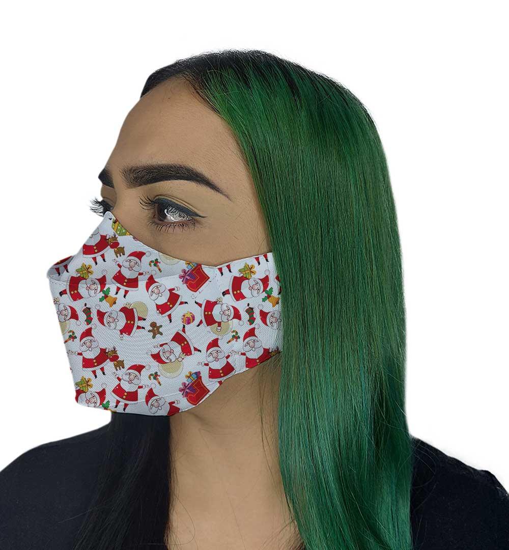 Máscara 3D - Natal| Noel
