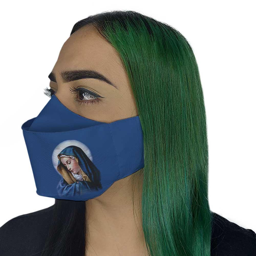 Máscara 3D - Nossa Senhora das Dores
