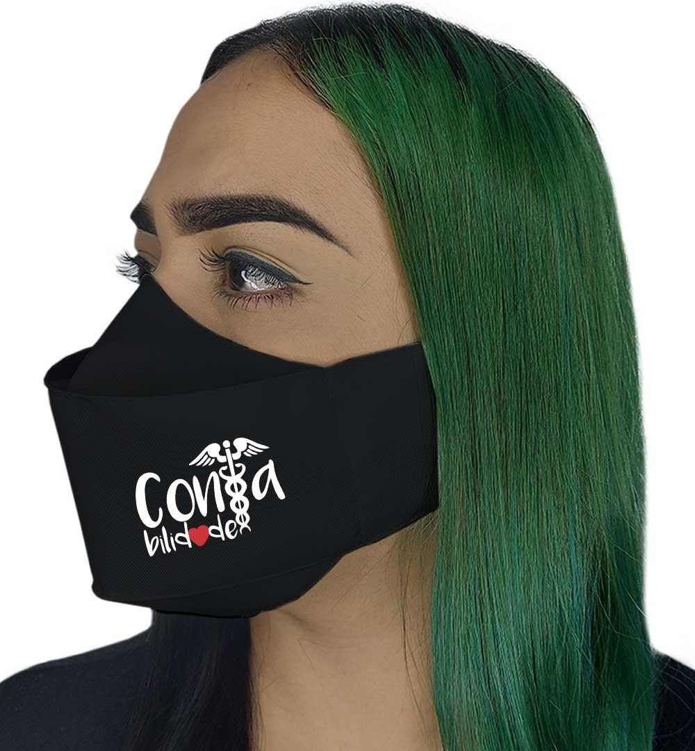 Máscara 3D - Profissão | Contabilidade