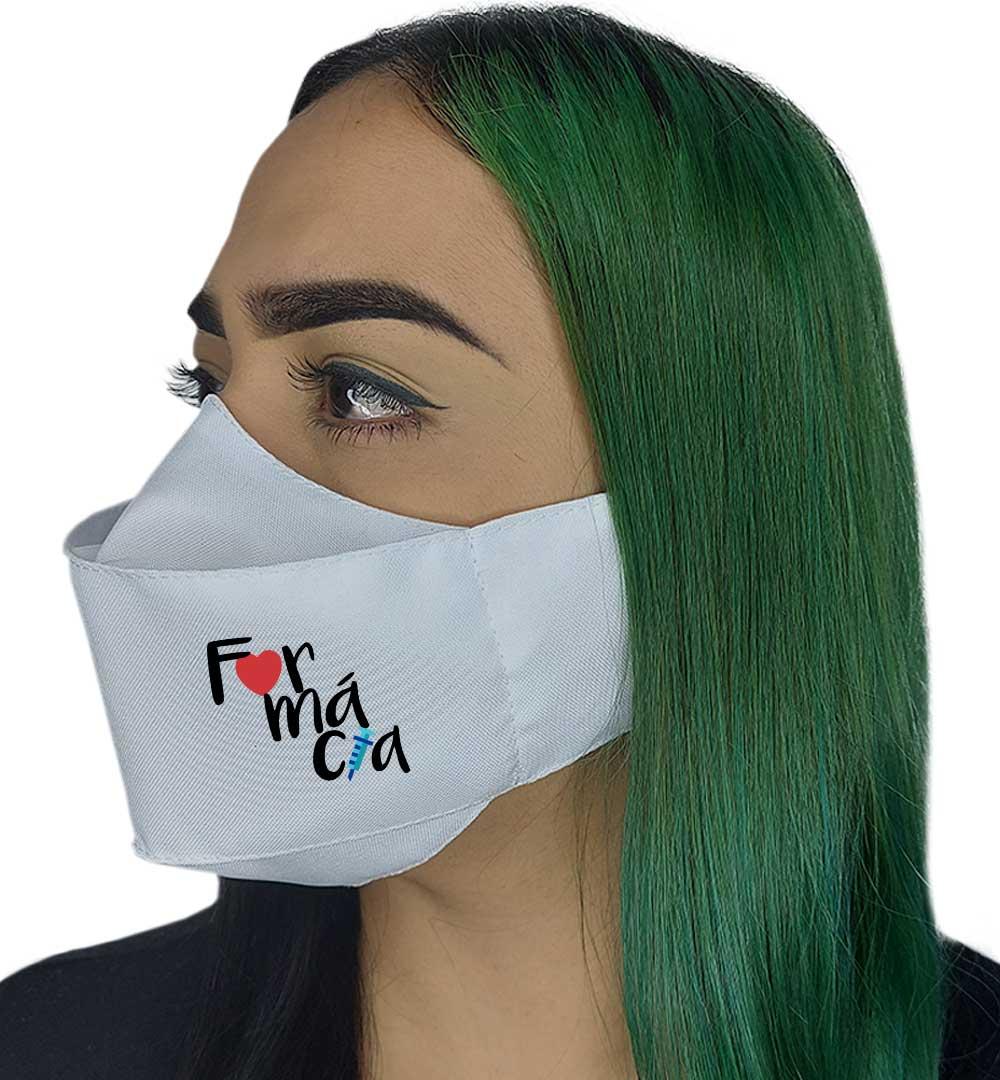 Máscara 3D - Profissão | Farmácia