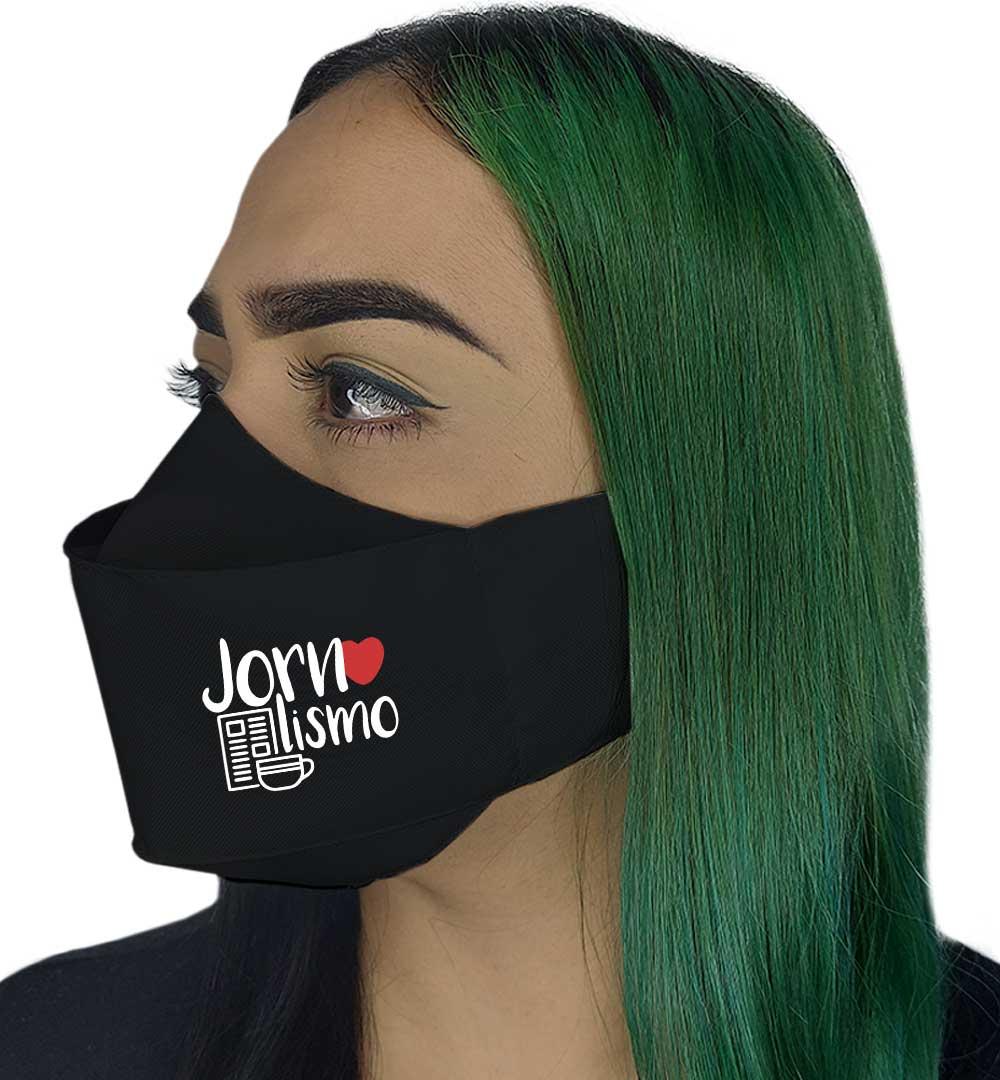 Máscara 3D - Jornalismo