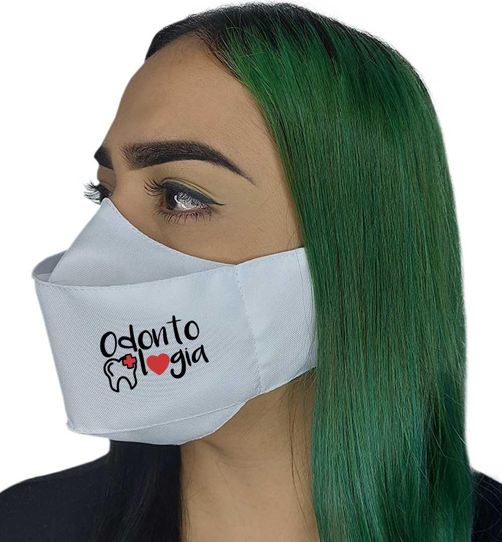 Máscara 3D - Profissão | Odontologia
