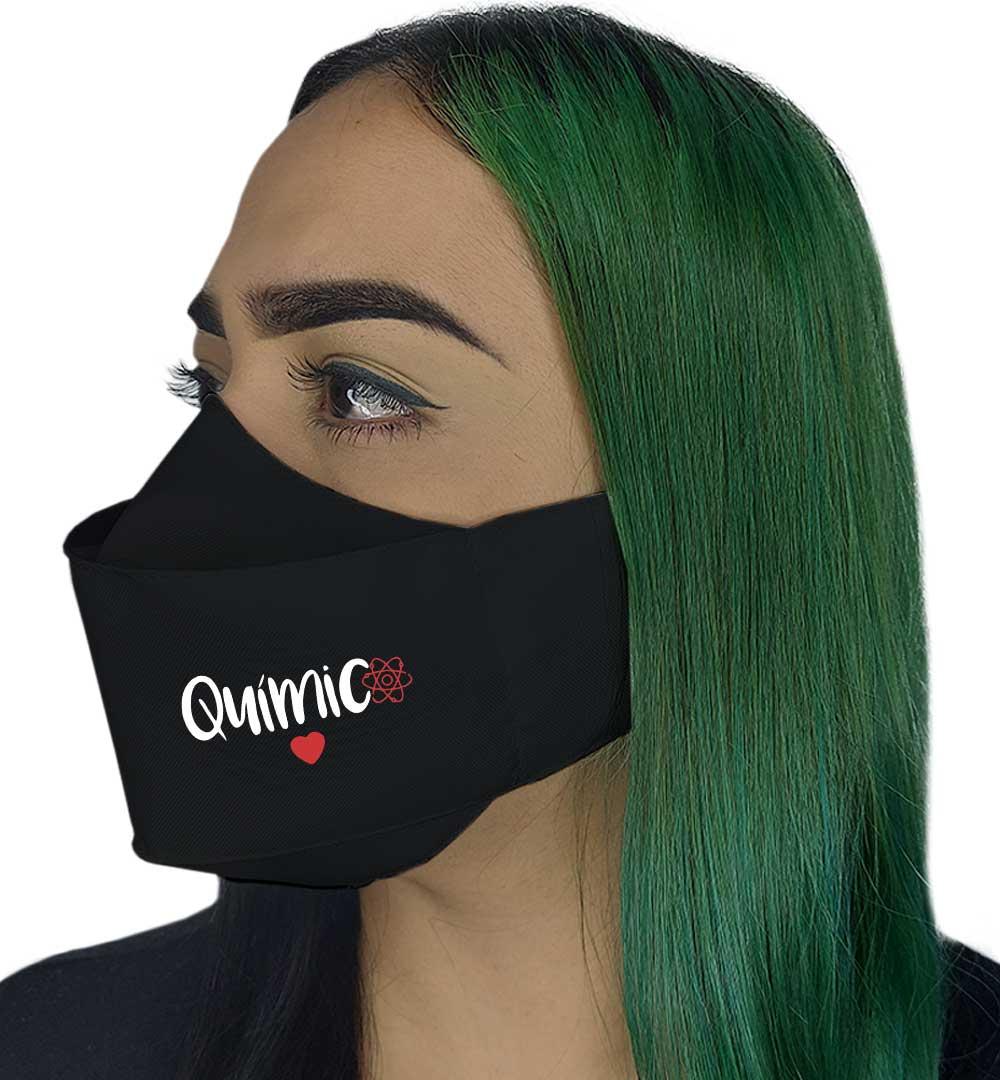 Máscara 3D - Química