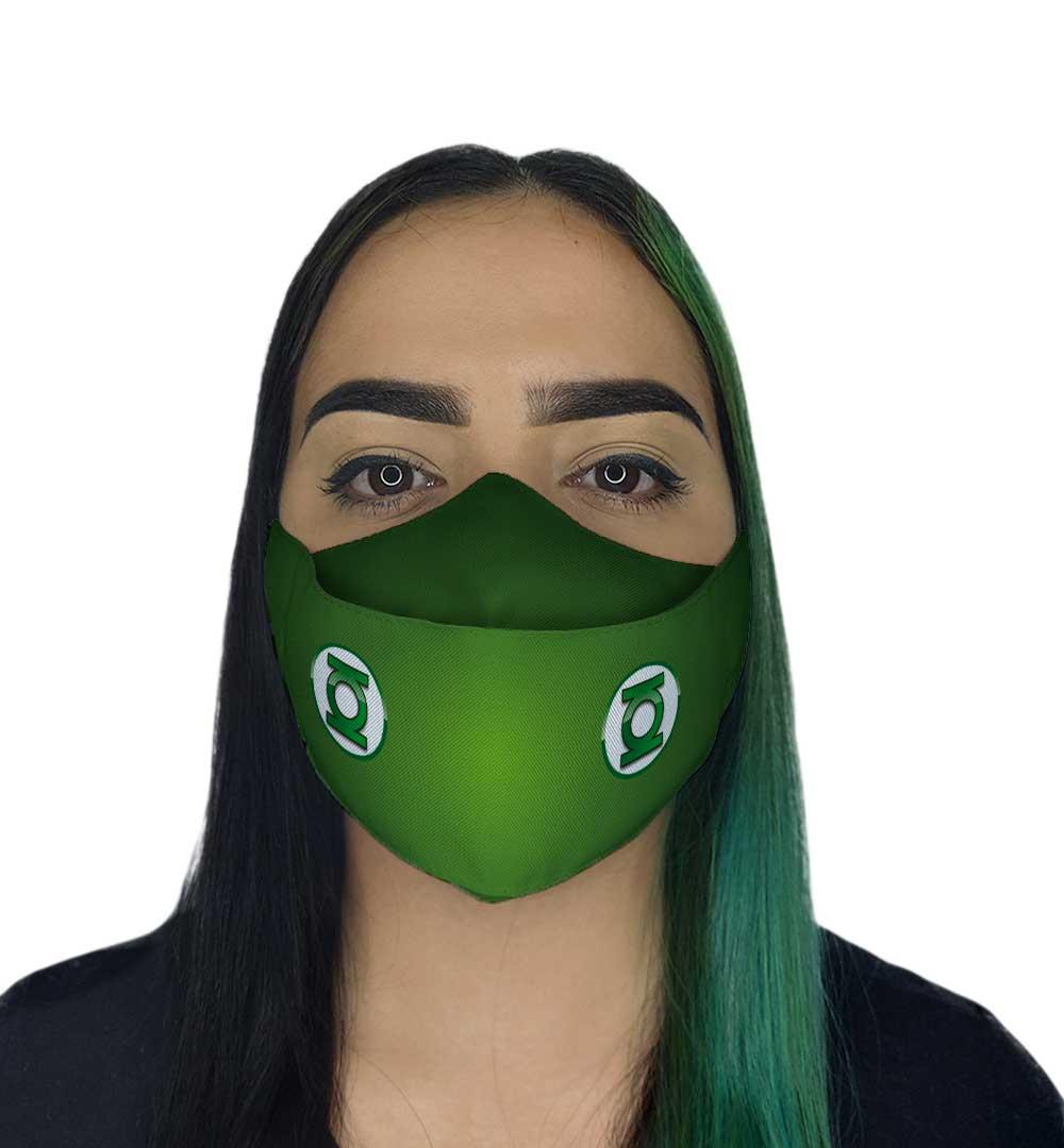 Máscara 3D - Protetor Verde