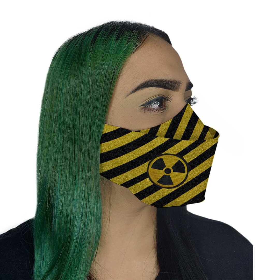Máscara 3D - Radioativa