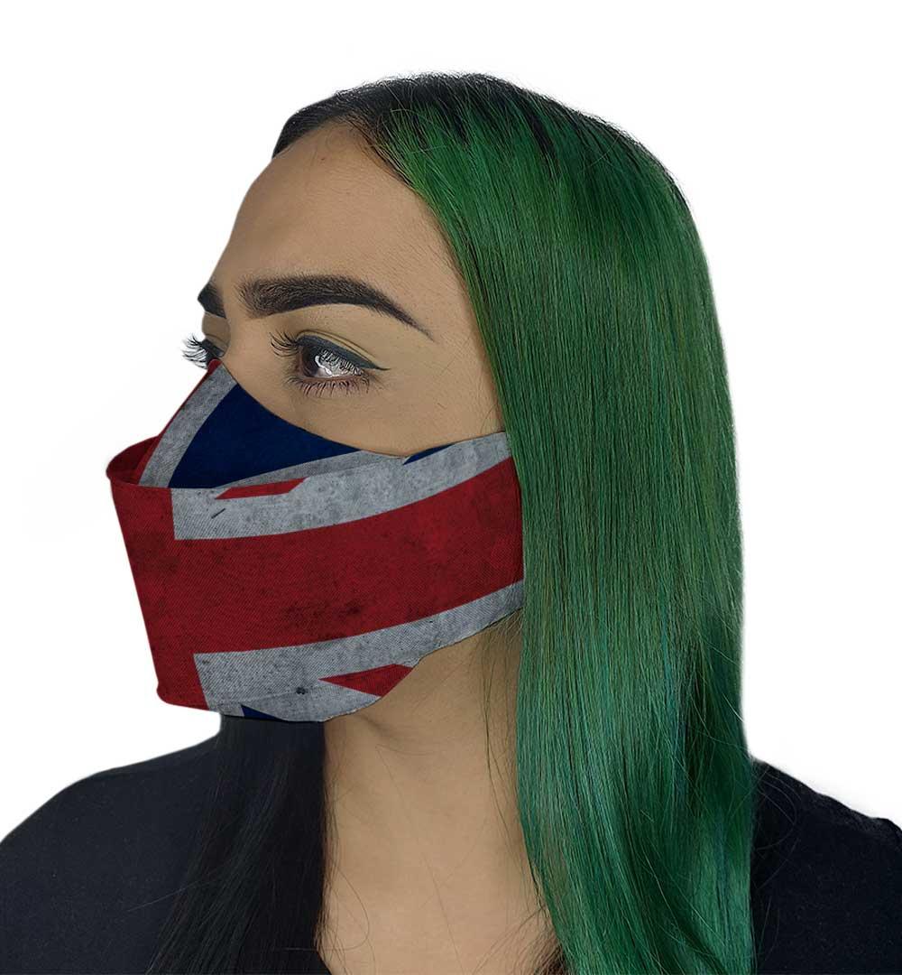 Máscara 3D - Reino Unido