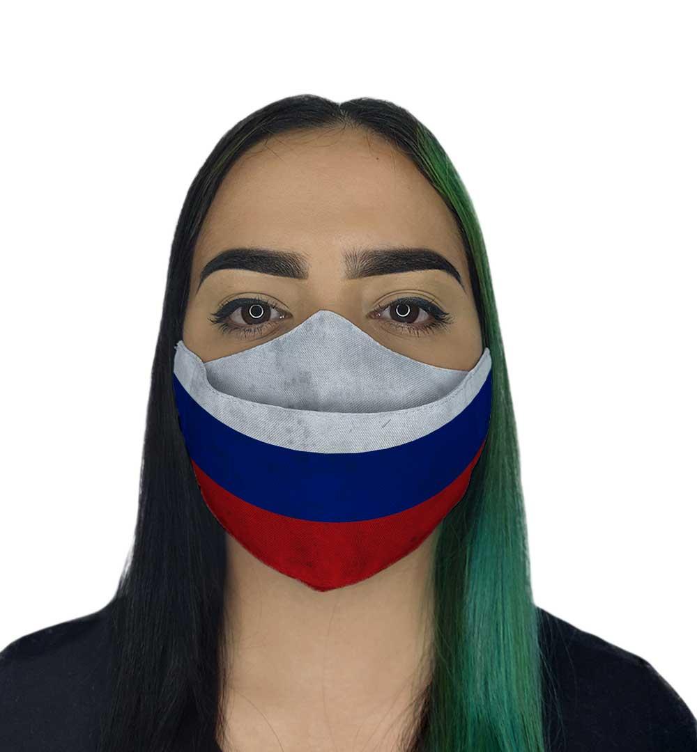 Máscara 3D - Russia
