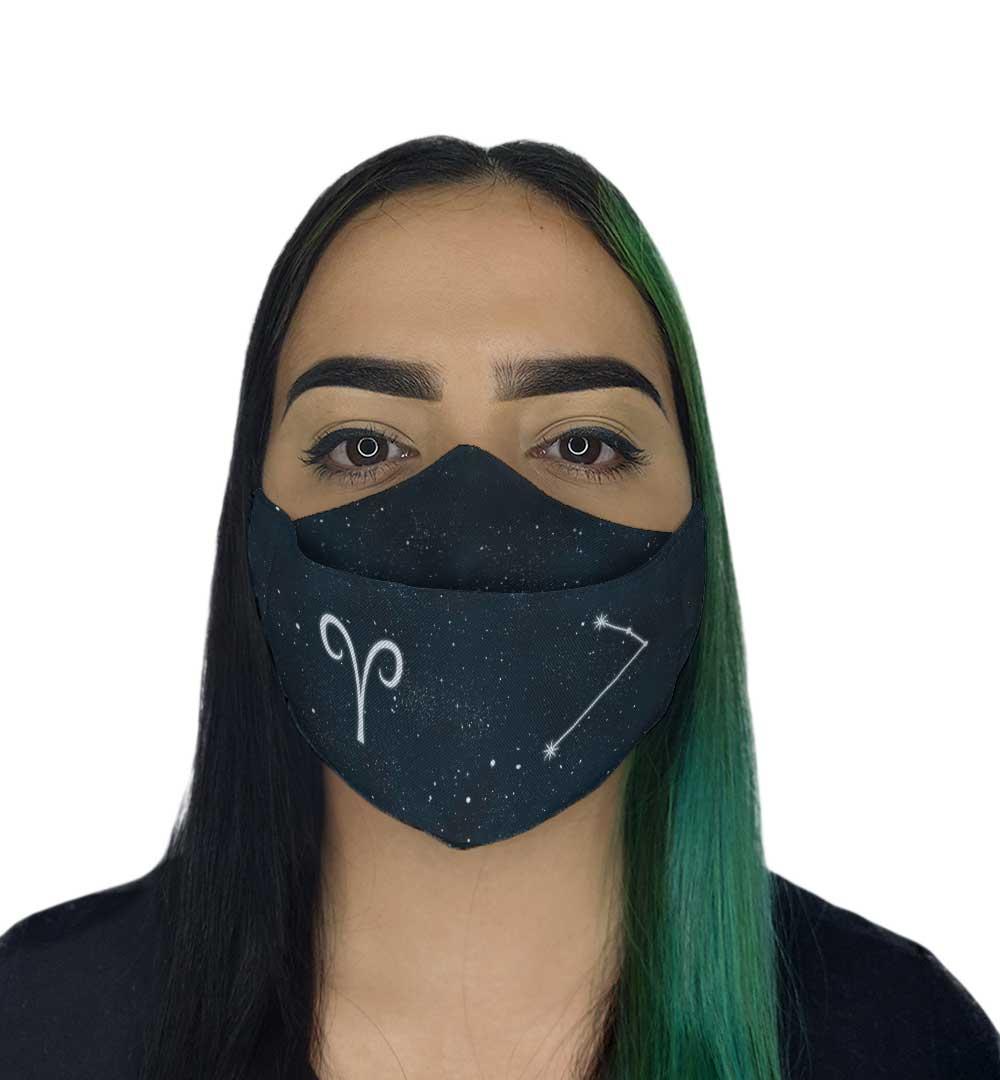 Máscara 3D - Signos