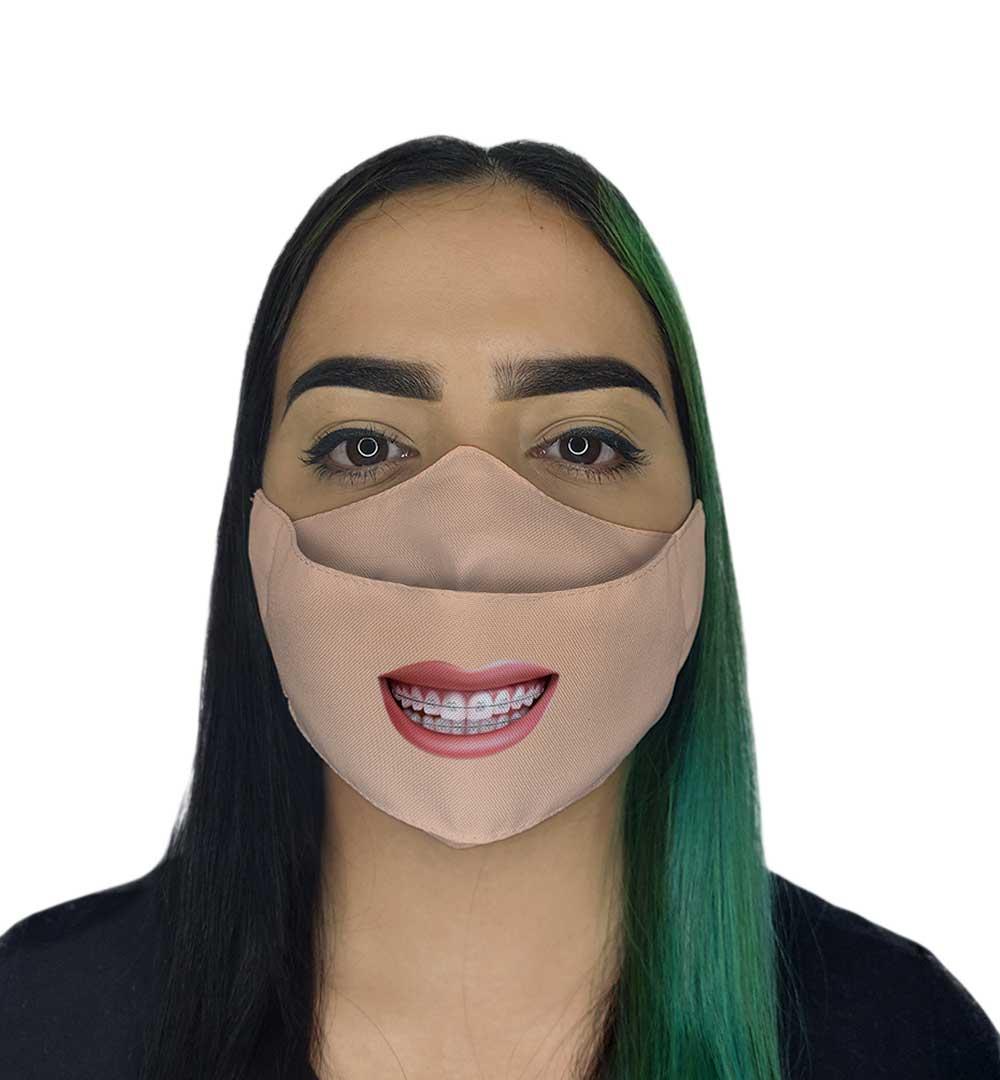 Máscara 3D - Sorriso