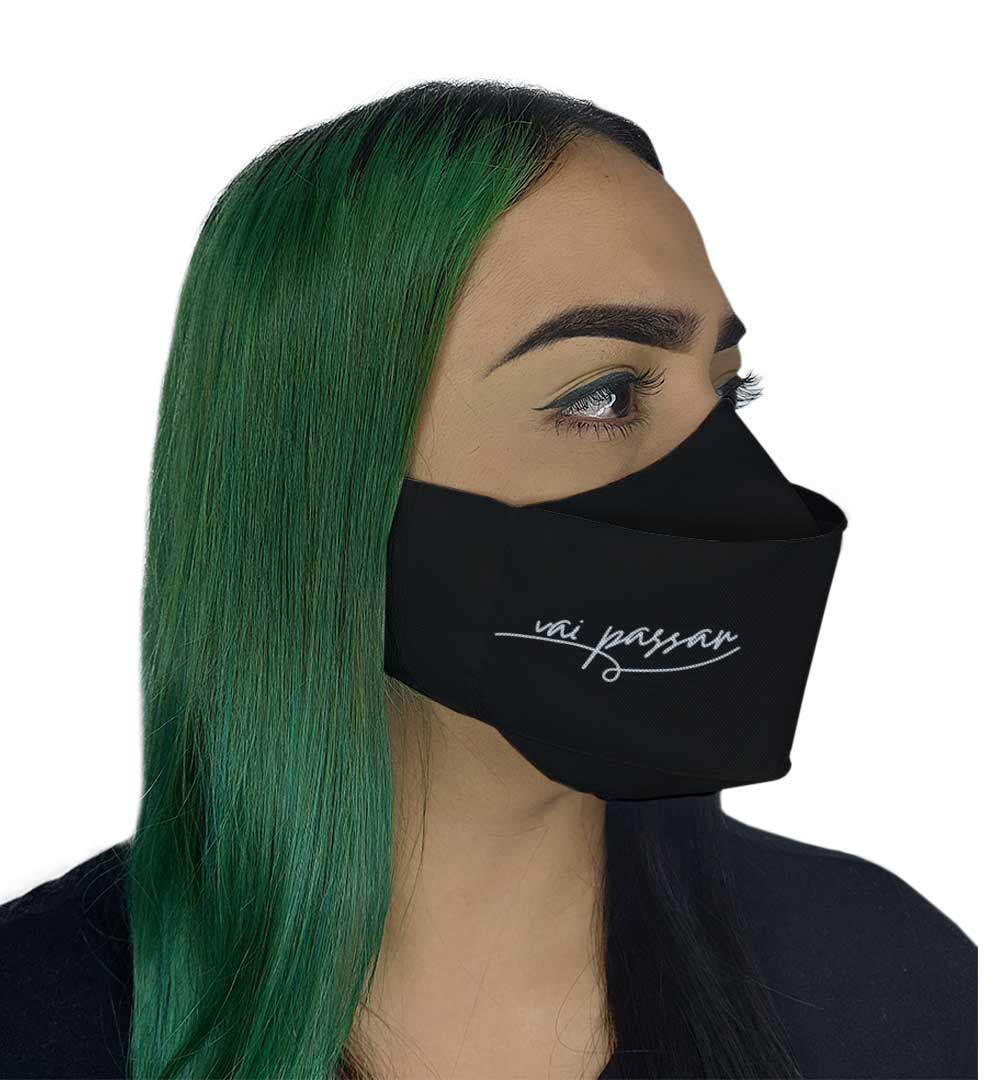 Máscara 3D - Vai Passar
