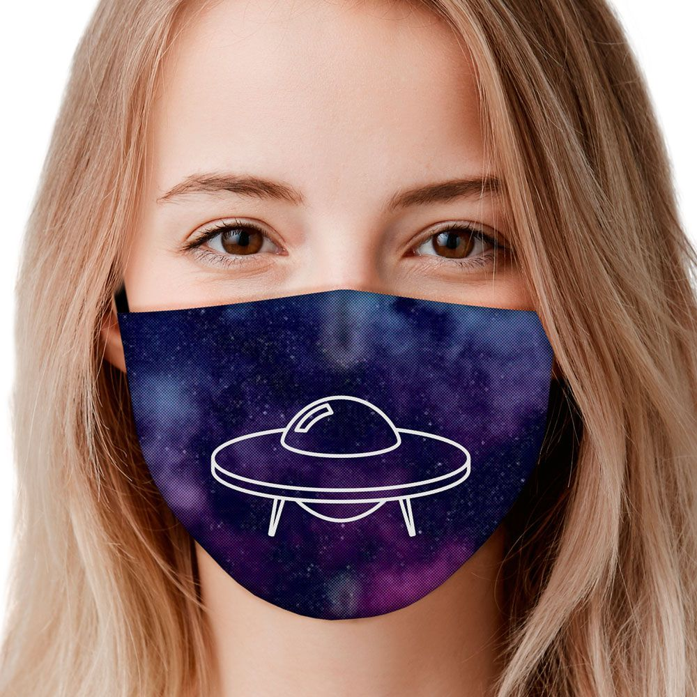 Máscara Aliens Disco Voador