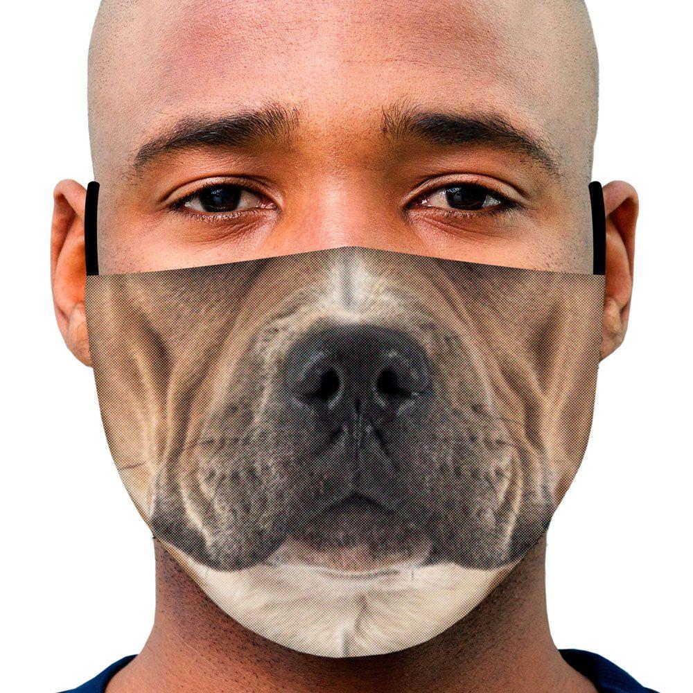 Máscara Animais Focinho Cachorro