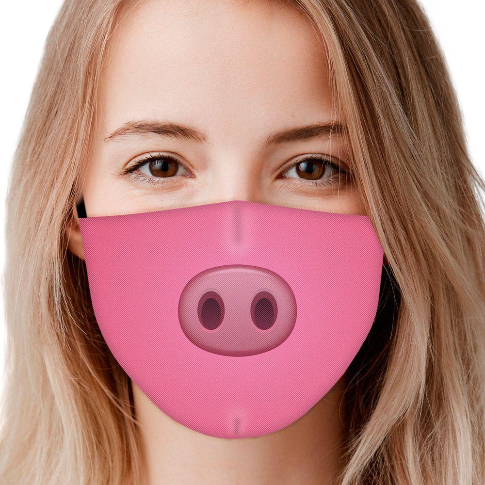 Máscara Animais Focinho Porco