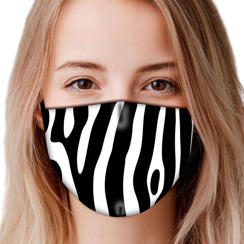 Máscara Animais Zebra