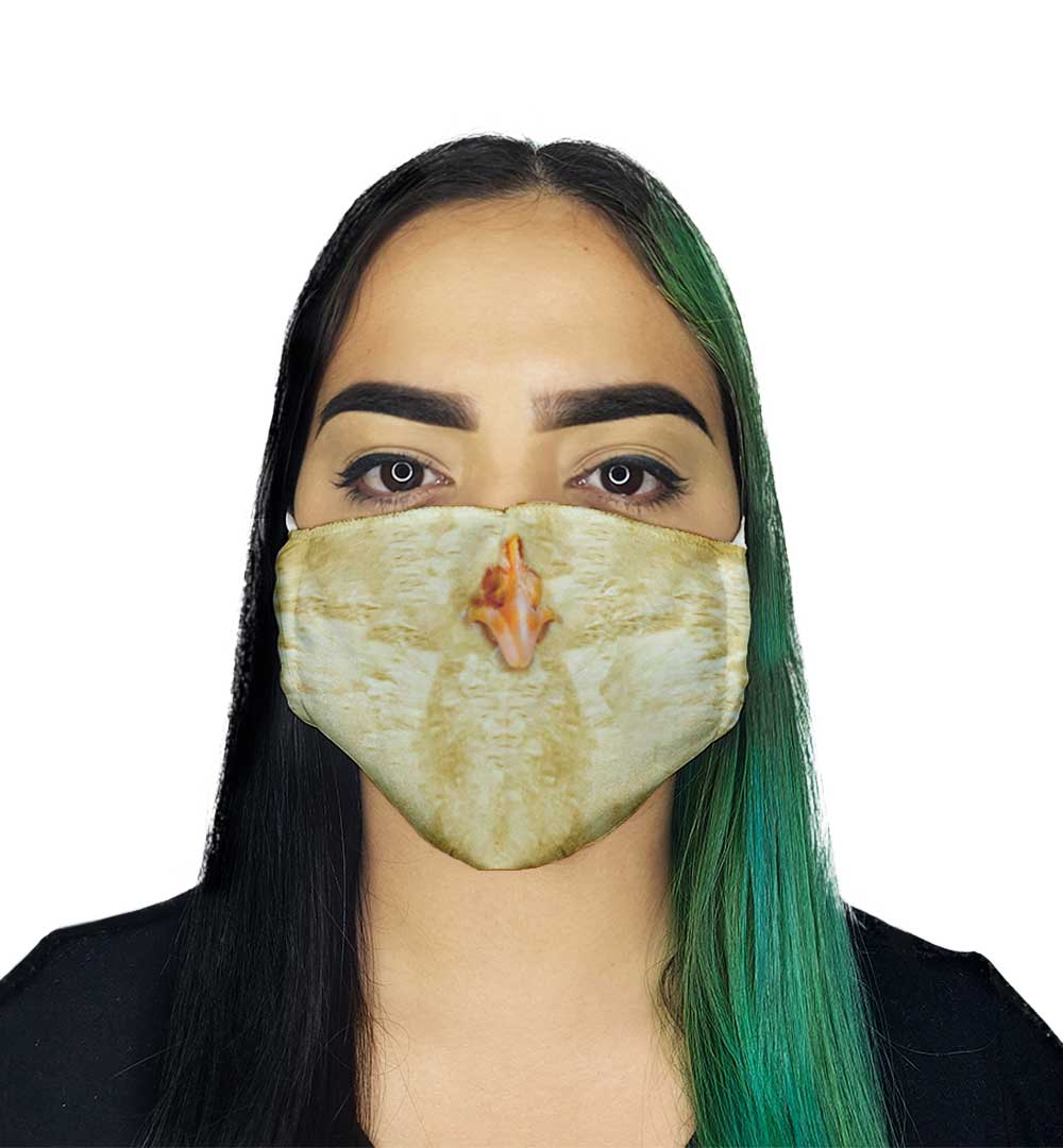 Máscara - Bico de Pinto