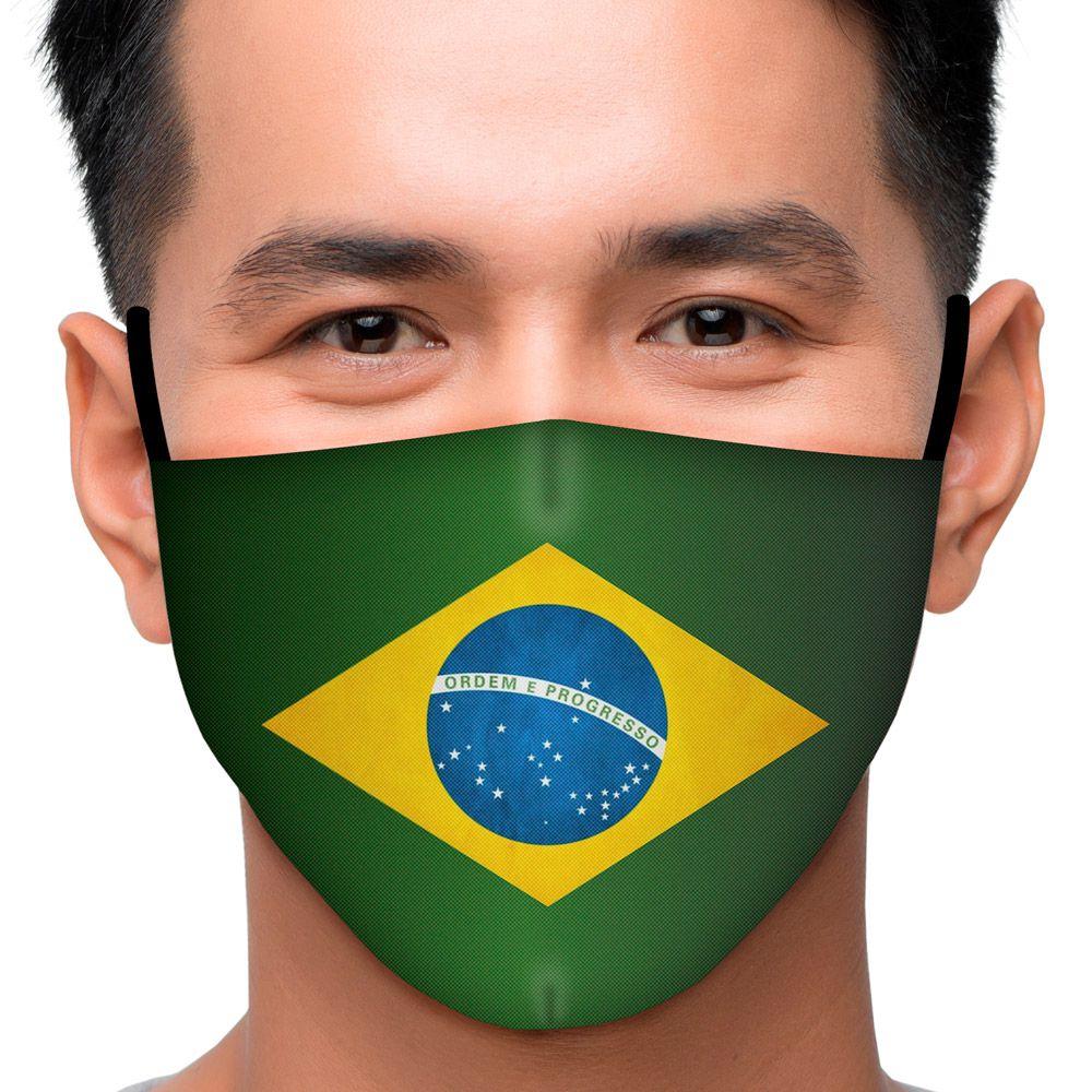 Máscara Brasil