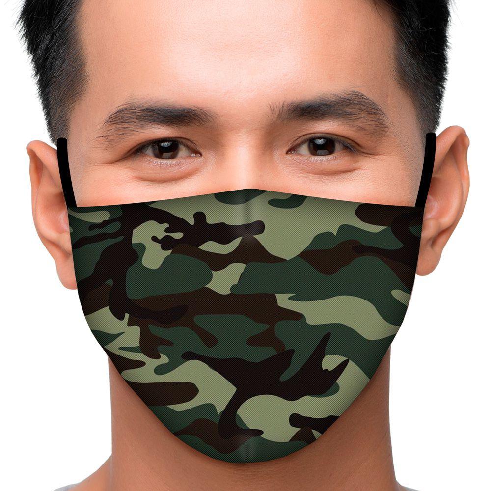 Máscara Camuflado Verde