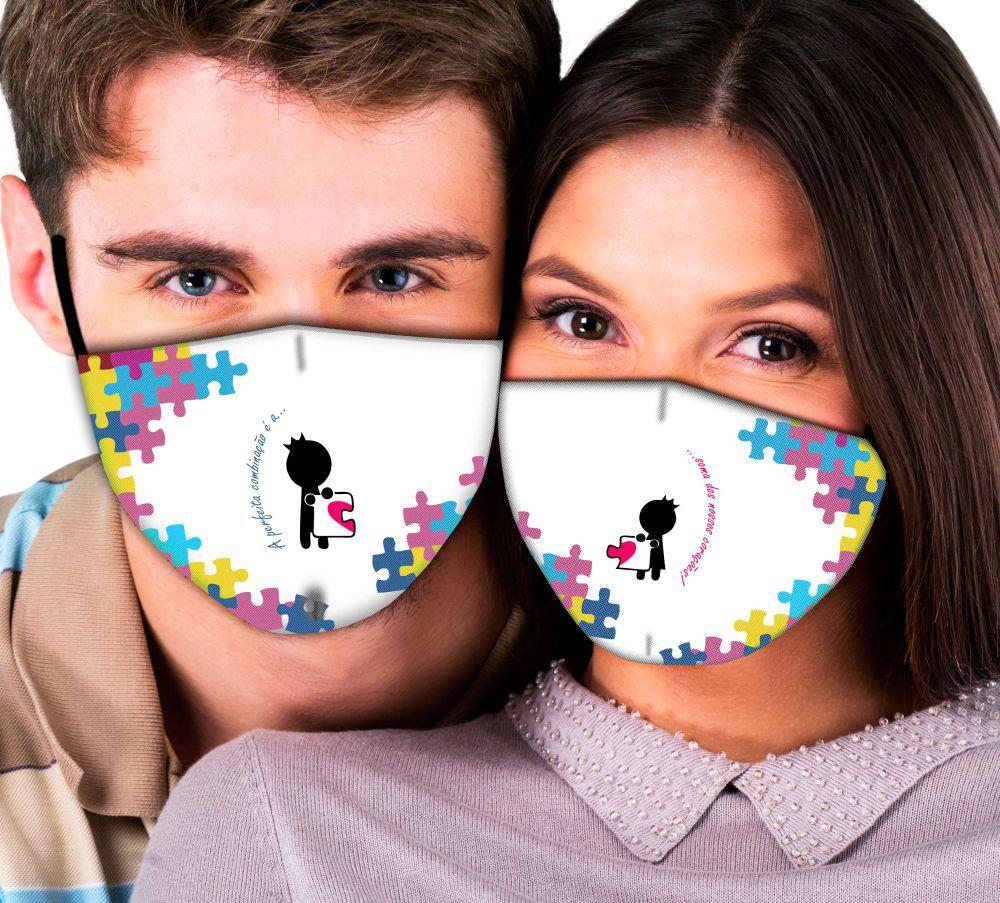 Máscaras de Casal Perfeita Combinação
