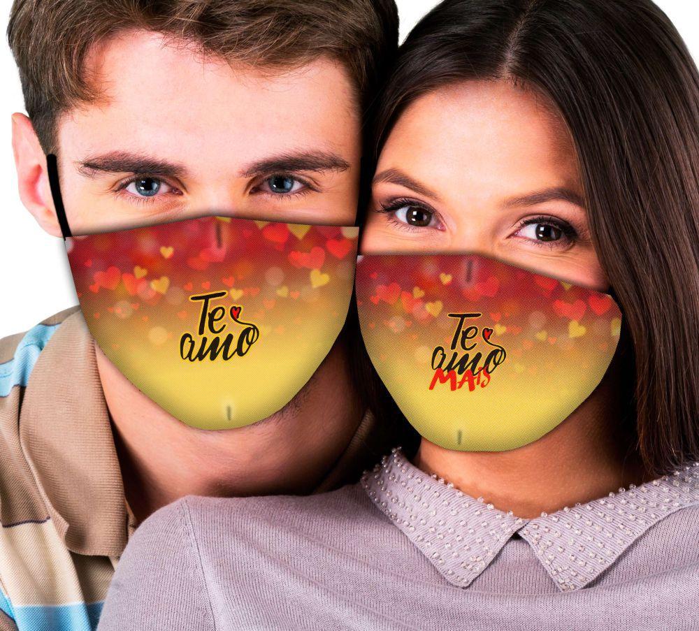 Máscaras Casal Te Amo, Te Amo Mais
