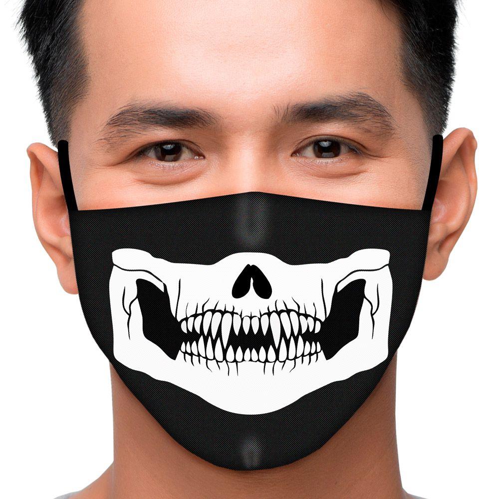 Máscara Caveira Dentes Afiados
