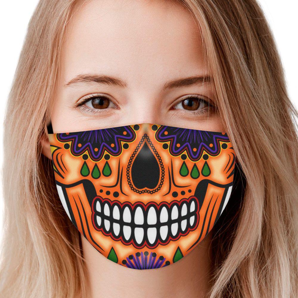 Máscara Caveira Mexicana Sorriso