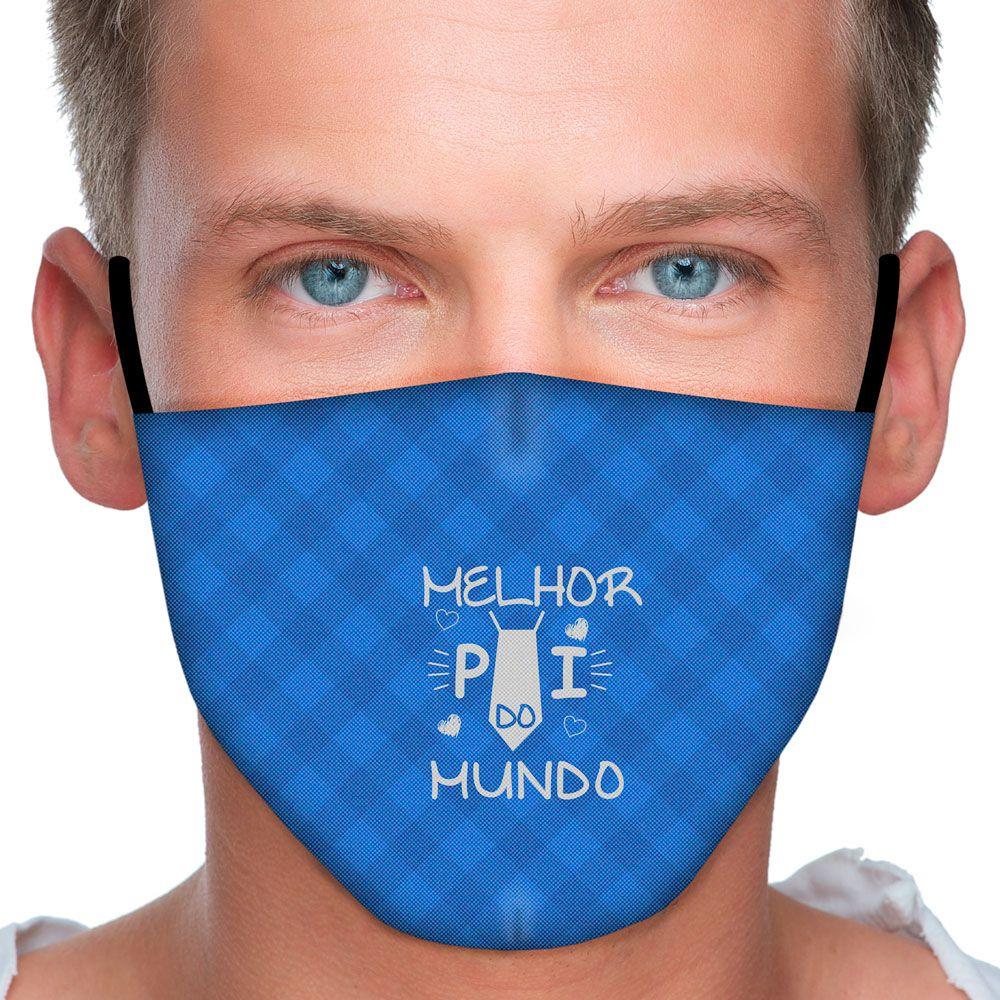 Máscara Família Melhor Pai do Mundo