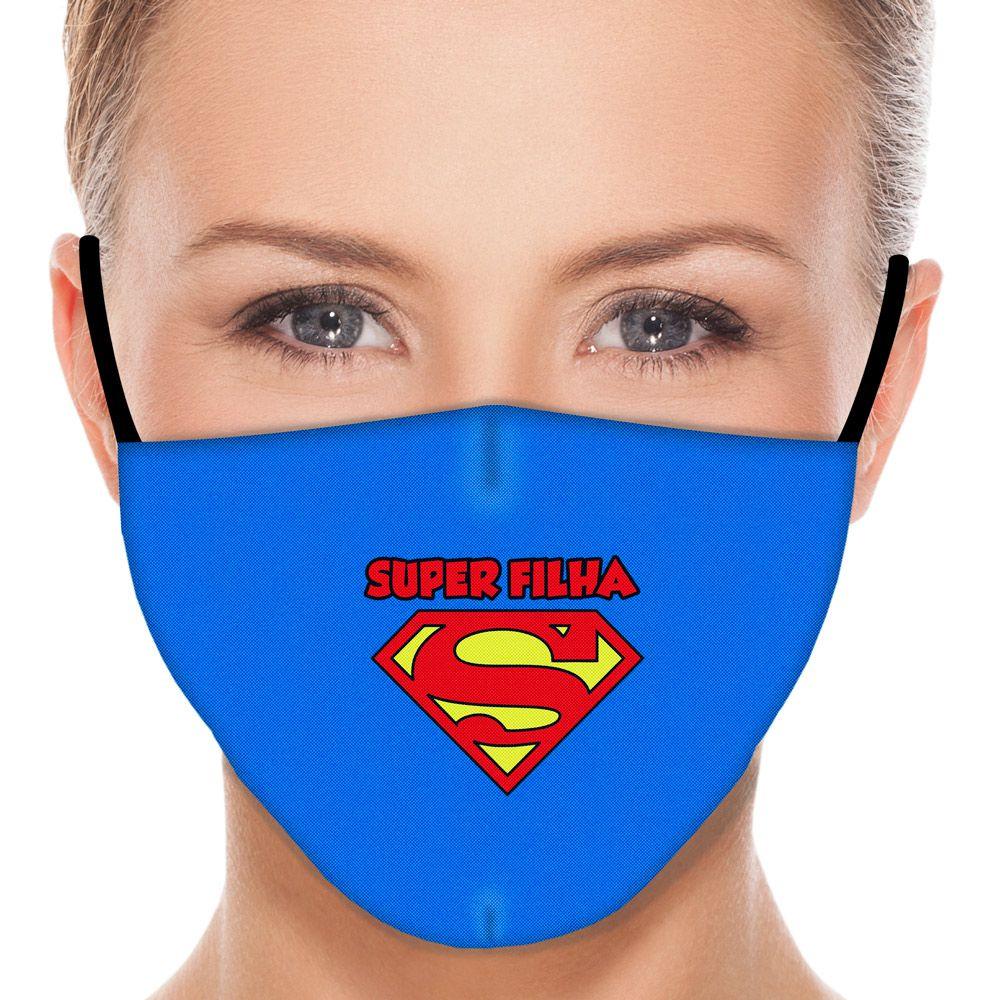 Máscara Família Super Filha