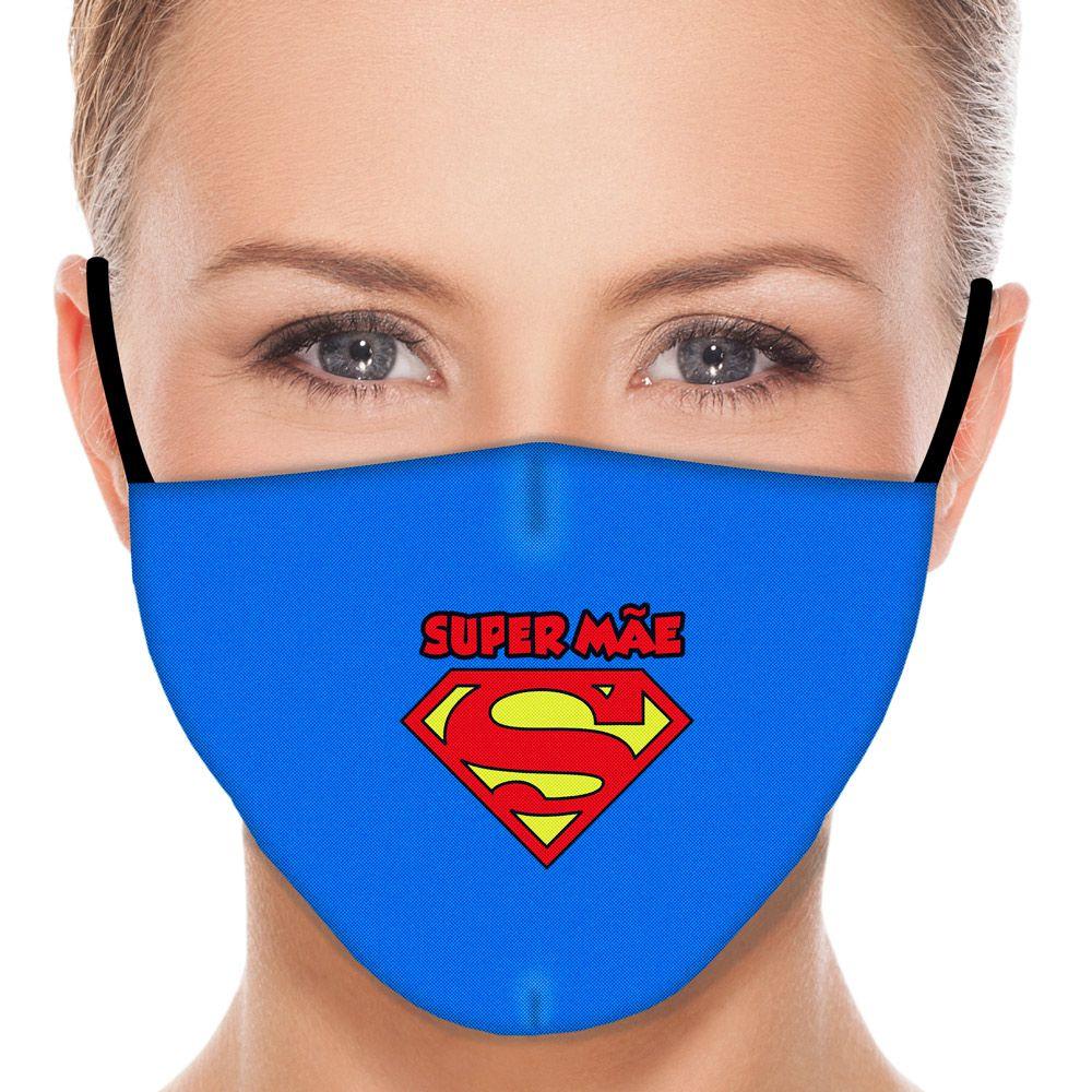 Máscara Família Super Mãe