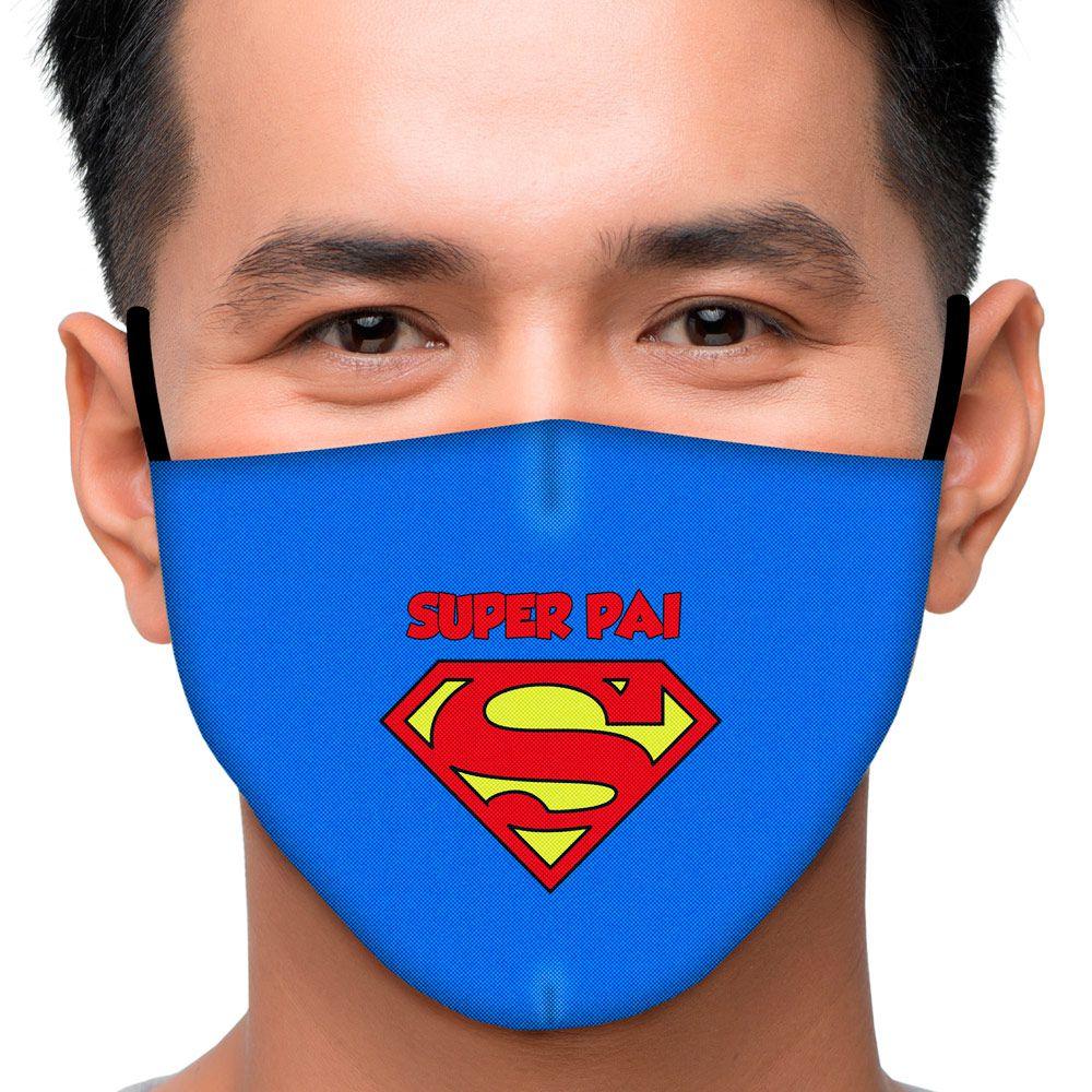 Máscara Família Super Pai