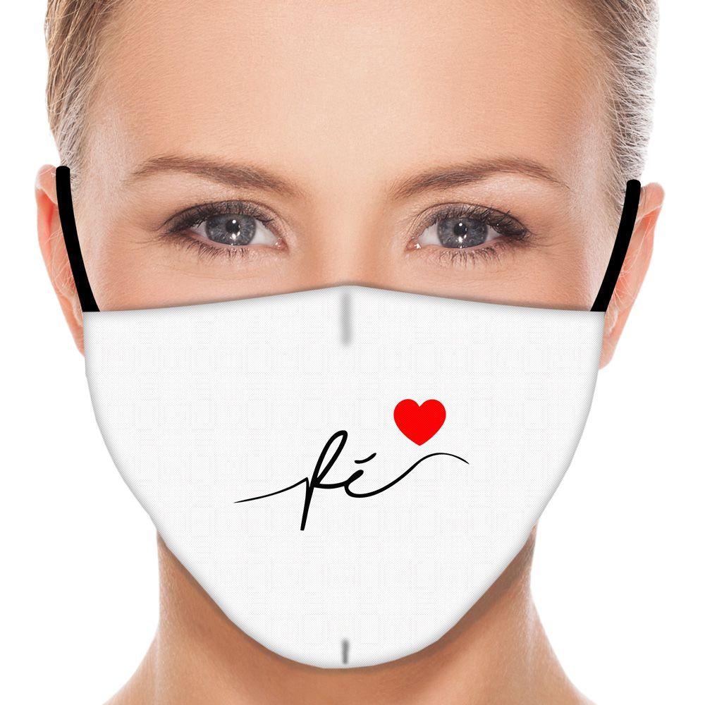 Máscara Fé II (Branco)