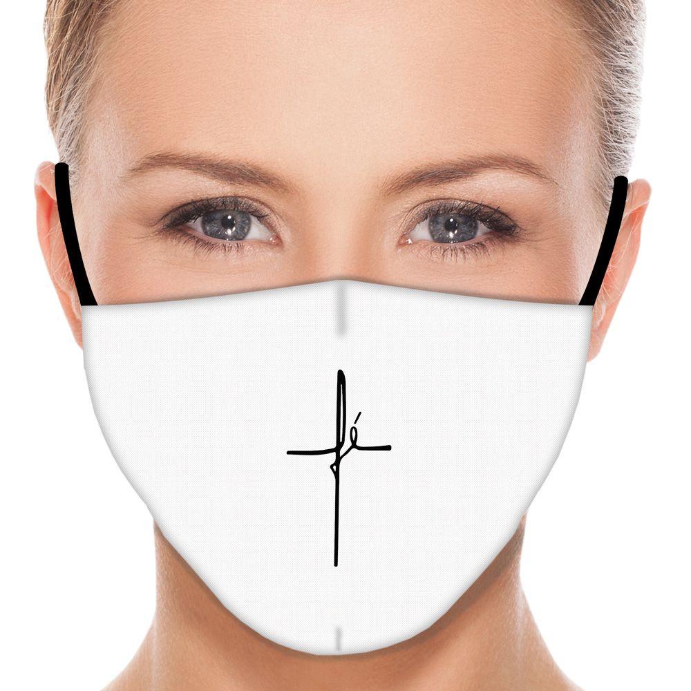 Máscara Fé III (Branco)