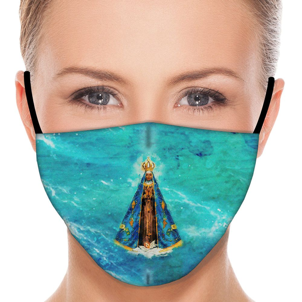 Máscara Fé Nossa Senhora Aparecida II
