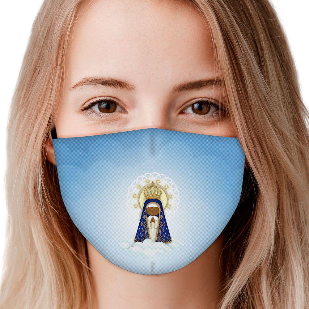 Máscara Fé Nossa Senhora Aparecida III