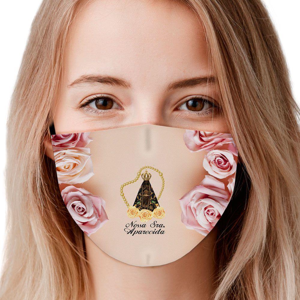 Máscara Fé Nossa Senhora Aparecida IV
