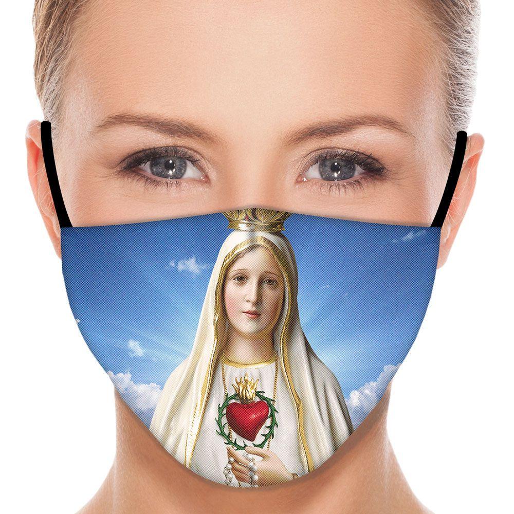 Máscara Fé Nossa Senhora de Fátima